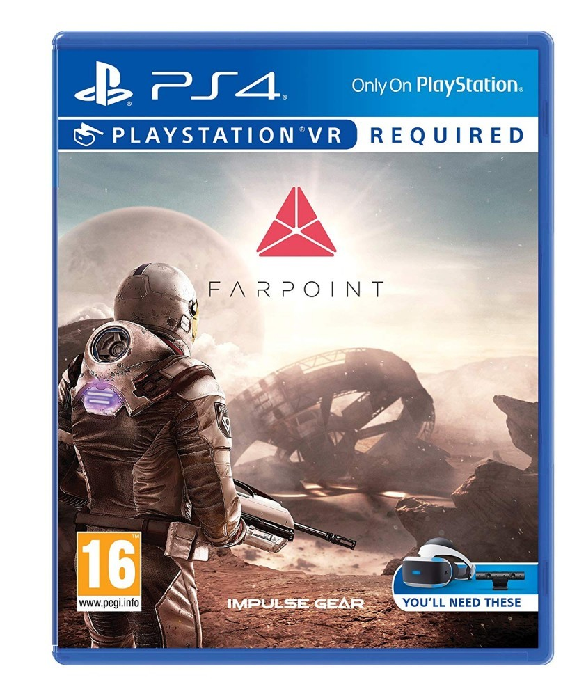 Hra PS4 Farpoint VR - 60343 - I