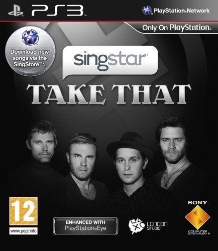PS3  Játék Singstar Take That