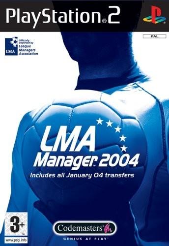 Joc PS2 LMA Manager 2004