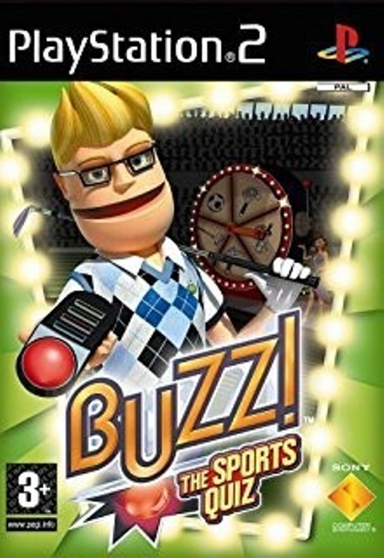 Hra PS2 Buzz - The sports quiz
