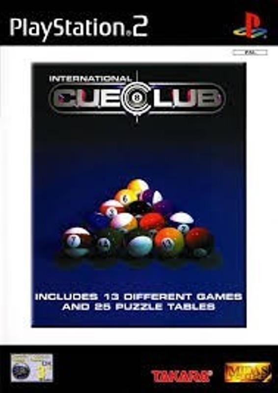 Hra PS2 International Cue Club
