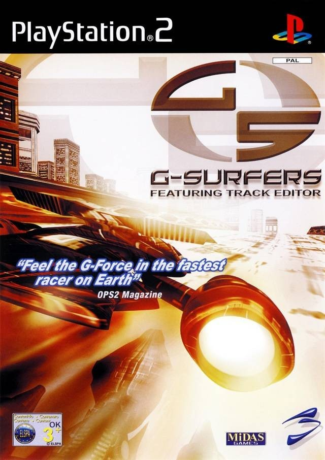Joc PS2 G - Surfers Featuring Track Editor - A