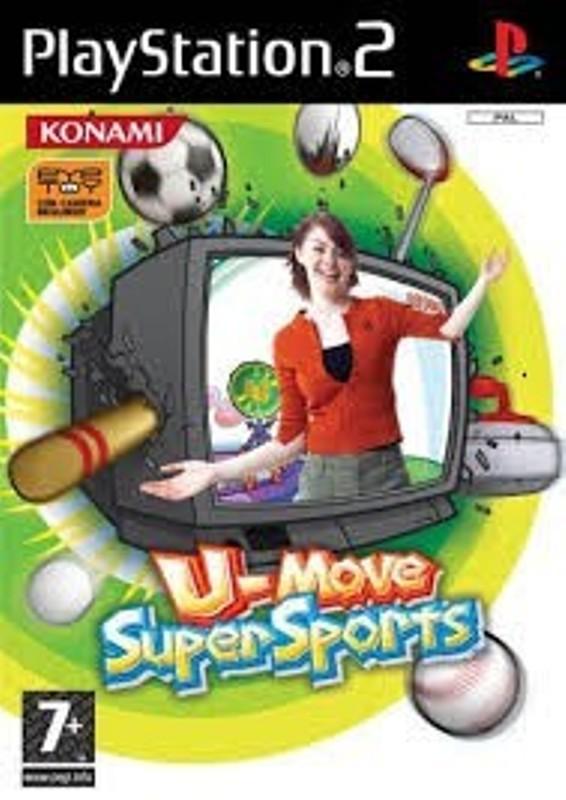 Joc PS2 U-Move Super Sports