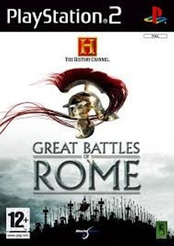 PS2  Játék The History Channel - Great Battles of Rome