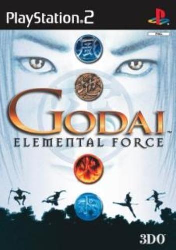 Joc PS2 GoDai: Elemental Force - E