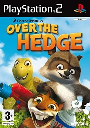 Hra PS2 Over the hedge