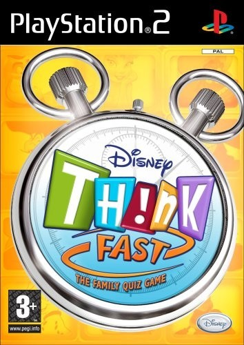 Joc PS2 Disney Think Fast  - Buzz
