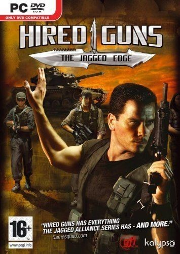 PC  Játék Hired Guns - The jagged edge