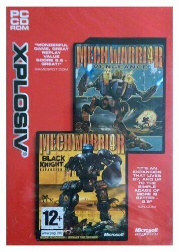 Joc PC Mechwarrior 4 Vengance + Black night Expansion Pack