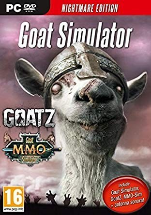 Joc PC Goat Simulator Nightmare Edition - GOATZ - 60149