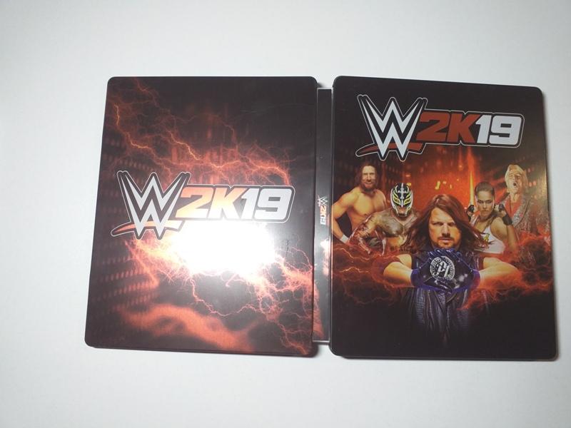 WWE 2K19 Steelbook