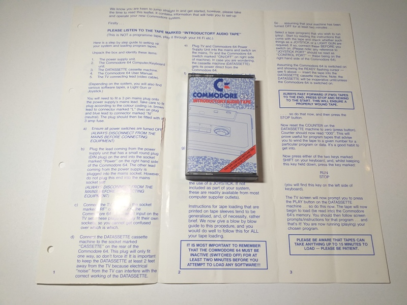 Joc AMIGA  Commodore 64 - Tool box