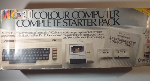 Consola Commodore VIC 20 Computer PAL