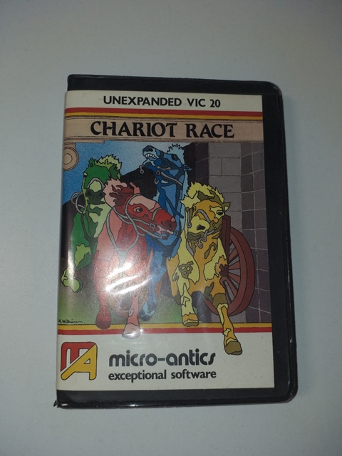 Joc AMIGA  Chariot Race - Commodore VIC 20