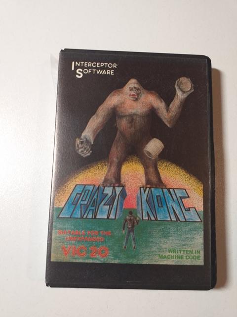 Joc AMIGA  Crazy Kong - Commodore VIC 20 - F
