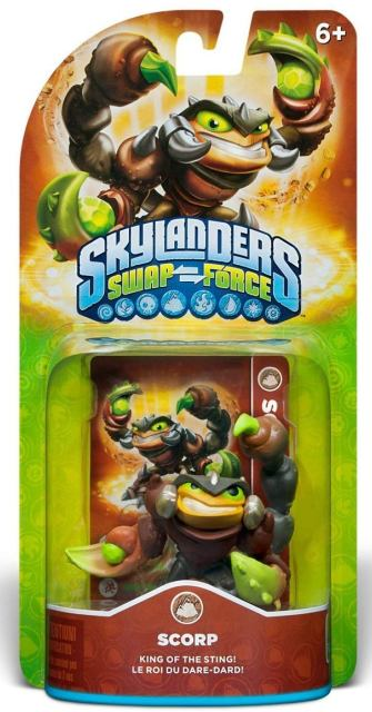 Skylanders Swap Force - Scorp - 60391