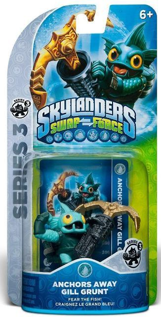 Skylanders Swap Force - Anchors Away Gill Grunt - 60392