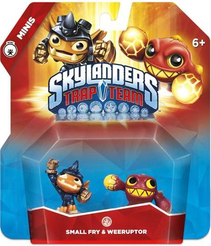 Skylanders Trap Team - Small Fry + Weeruptor - 60397