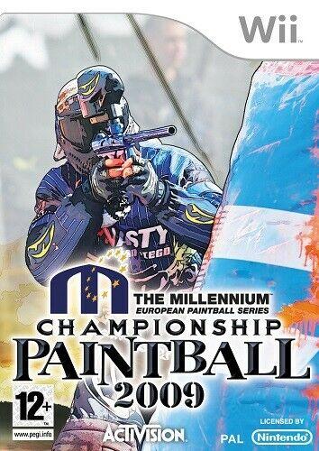 Nintendo Wii Játék Millennium Championship Paintball 2009