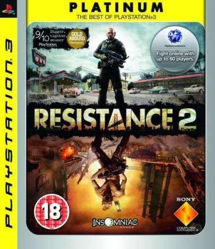 Hra PS3 Resistance 2 Platinum