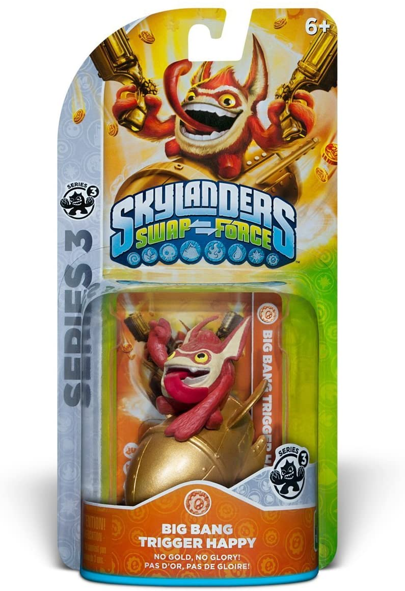 Skylanders Swap Force Core Big Bang Trigger Happy - 60402