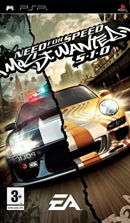игра PSP Need For Speed 510 NFS