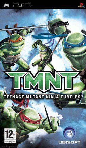 Joc PSP Teenage Mutant Ninja Turtles - A