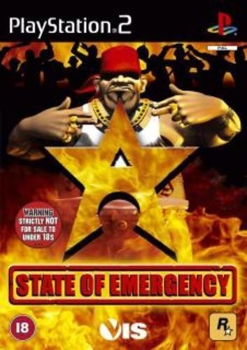 Joc PS2 State of emergency - A