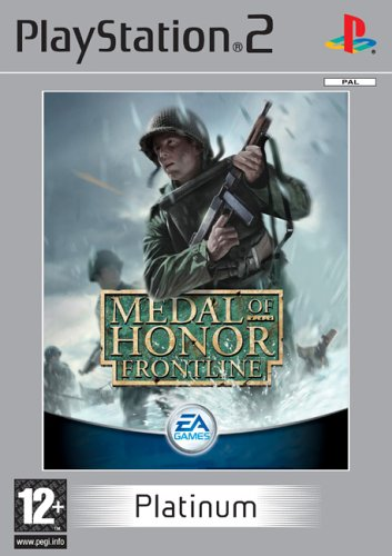 PS2  Játék Medal of Honor Frontline Platinum - E
