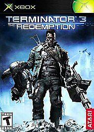 Joc XBOX Clasic Terminator 3 The Redemption