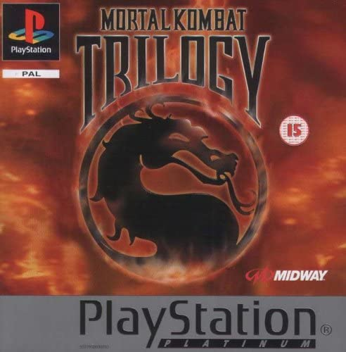Joc PS1 Mortal Kombat Trilogy PLATINUM