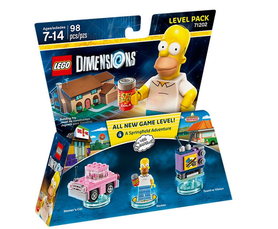 LEGO Dimensions The Simpsons Level Pack - 60420