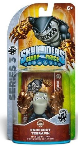 Skylanders Swap Force - Knockout Terrafin - 60423