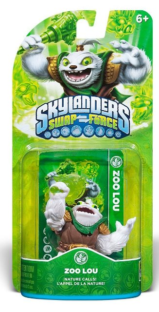 Skylanders Swap Force Zoo Lou - 60424