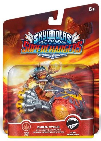 Skylanders Superchargers Single Vehicle - Burn Cycle - 60428