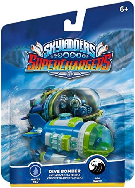 Skylanders SuperChargers Vehicle - Dive Bomber - 60430