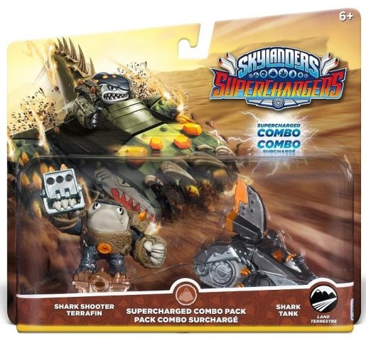 Skylanders SuperChargers : Shark Shooter Terrafin  + Shark Tank - 60432