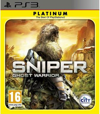 Joc PS3 Sniper Ghost Warrior Platinum