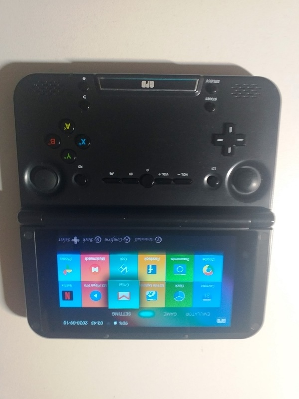 Consola GPD XD Plus 32 GB Matte Black