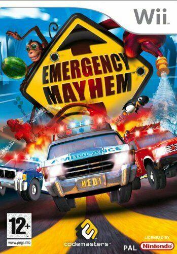 Joc Nintendo Wii Emergency Mayhem - A