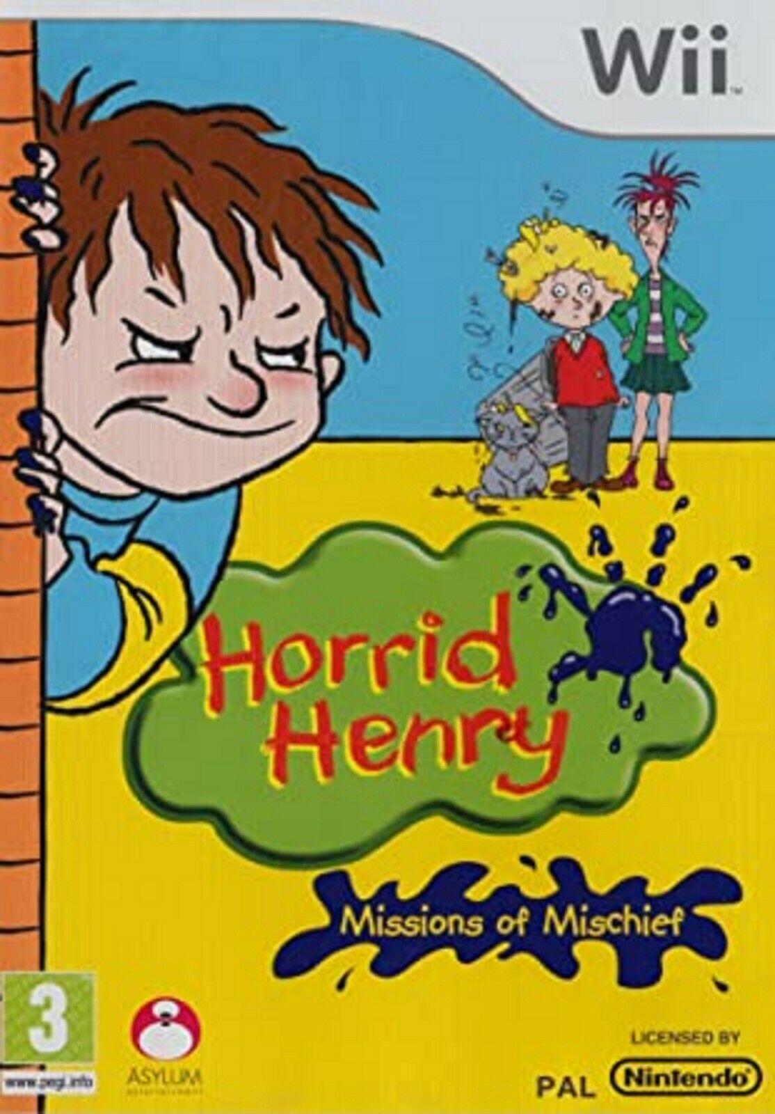 Joc Nintendo Wii Horrid Henry