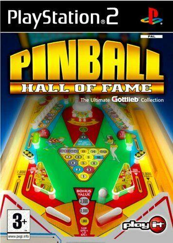 Hra PS2 Pinball Hall of Fame