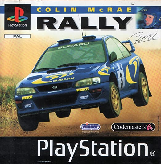 Joc PS1 Colin McRae Rally