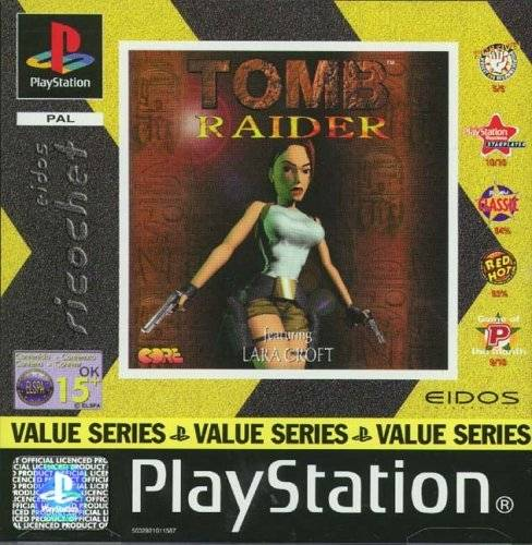 Joc PS1 Tomb Raider - Eidos Ricochet