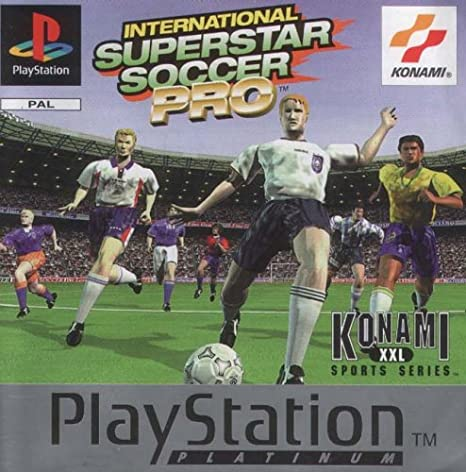 Joc PS1 International superstar soccer Pro ISS PLATINUM