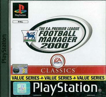 Joc PS1 The F.A. Premier League Football Manager 2000