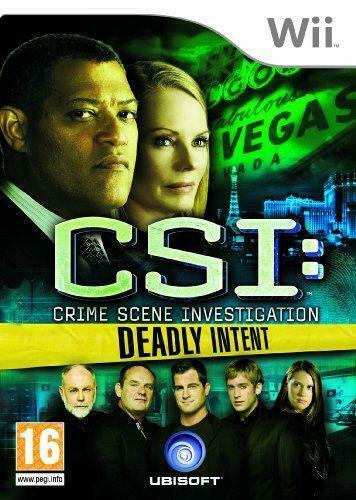 Joc Nintendo Wii CSI: Crime Scene Investigation - Deadly Intent