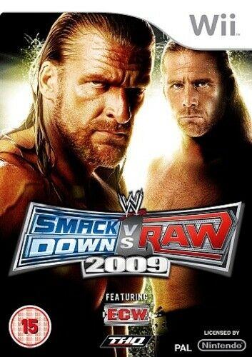 Joc Nintendo Wii WWE SmackDown Vs. RAW 2009