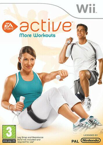 Joc Nintendo Wii EA SPORTS Active: More Workouts
