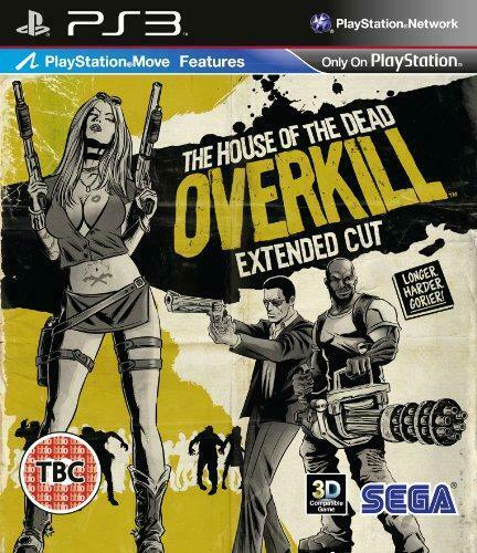 игра PS3 The House of the Dead: Overkill